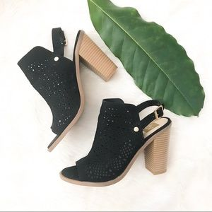 DV by Dolce Vita | perforated peeptoe booties